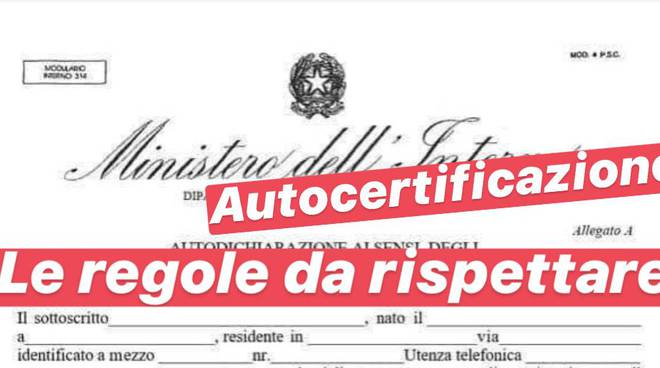 Autocertificazione Istituto Sant'Agata: scaricala qui per spostarti