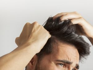 Ottobre perdita capelli